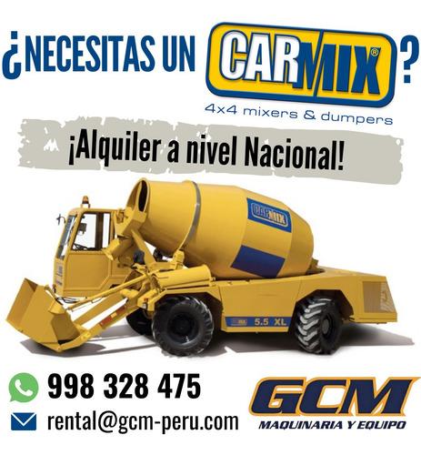Imagen 1 de 5 de Alquiler Carmix Autohormigoneras Mixer