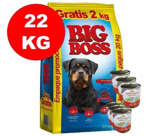 Imagen 1 de 2 de Big Boss Adulto 20 + 2kg + 6 Latas De Pate