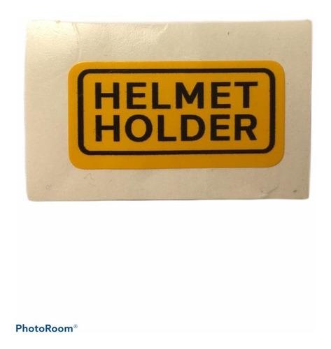 Imagen 1 de 1 de Emblema Honda Helmet Holder C70, Otros Modelos