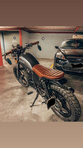 Suzuki Gn 125 Cafe Racer Brat Customizada Pedido