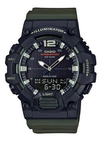 Relógio Casio Masculino Anadigi Hdc-700-3avdf 1 Ano Garantia