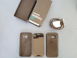 Celular Smartphone Samsung Galaxy S7 Android 8.0 Tela 5.1 32