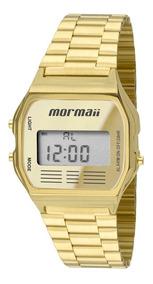 Relógio Masculino Digital Mormaii Dourado Mojh02ab/4d