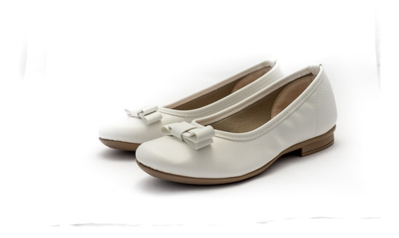 Zapatos Valerinas Chatitas Eco Cuero Dama Mh151