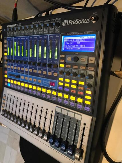 Mesa Digital Presonus Studio Live 16.0.2 Interface De Áudio