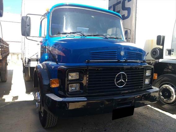 Caminhão Mb 1113 Baú Furgão Toco 4x2 Azul 1983
