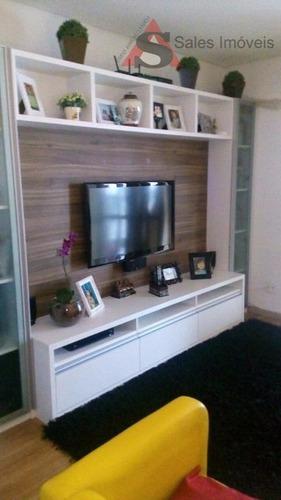 Apartamento Com 3 Dormitórios À Venda, 105 M² Por R$ 980.000,00 - Vila Gumercindo - São Paulo/sp - Ap25109