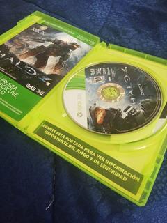 Halo 4 Discos Dos Juego Original Xbox 360 One