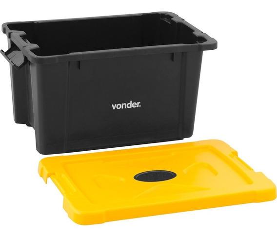 Caixa Plástica Para Ferramentas Baú 445x300x260mm Sem Alça C