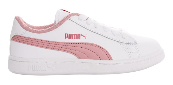 Zapatillas Puma Moda Smash V2 L Ps Niña Bl/rs