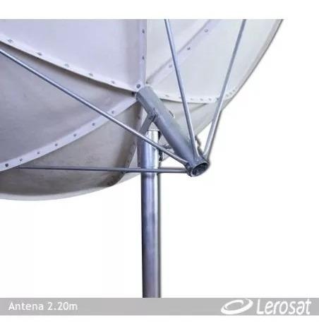 Antena Parabolica De Fibra 2.60 Mts Usada Em Otimo Estado.
