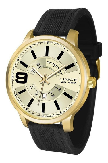 Relógio Lince Masculino Ref: Mrph055s C2px Casual Dourado