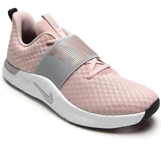 Tênis Running Nike Feminino Season Tr9 Ar4543-200 Macio Rosê