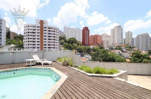 Cobertura Duplex Com 4 Dormitórios À Venda, 400 M² Por R$ 3.400.000 - Sumarezinho - São Paulo/sp - Co0125