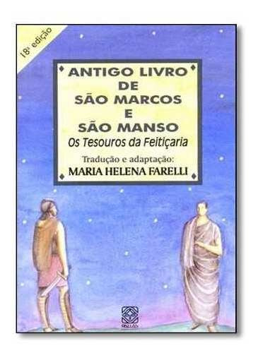 Livro - Antigo Livro De São Marcos E São Manso