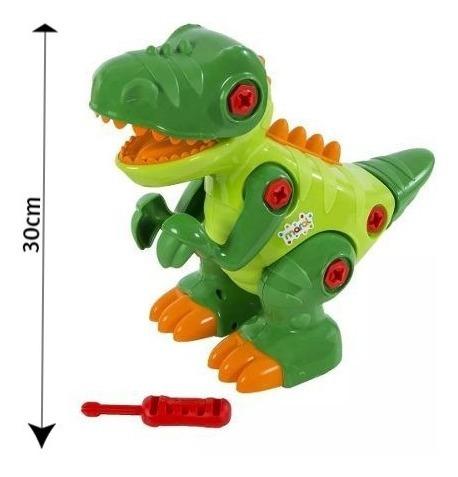 Brinquedo Infantil Dinossauro T-rex Com Som - Maral