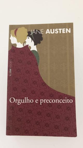 Livro Orgulho E Preconceito - Jane Auten - Edição De Bolso