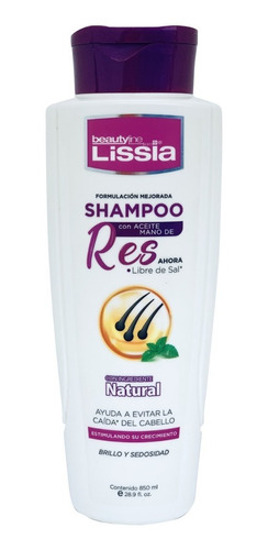 Shampoo Mano De Res Lissia - mL a $23