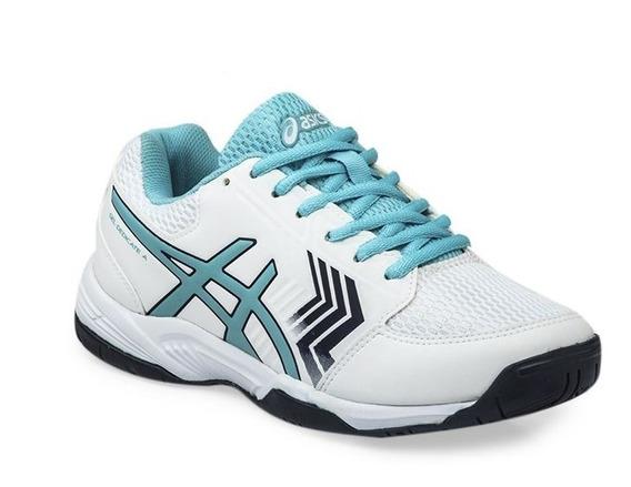 Zapatillas De Tenis Gel Dedicate 5 Asics Mujer Squash Padel