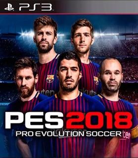 Pro Evolution Soccer 2018 Latino Pes 18 Ps3