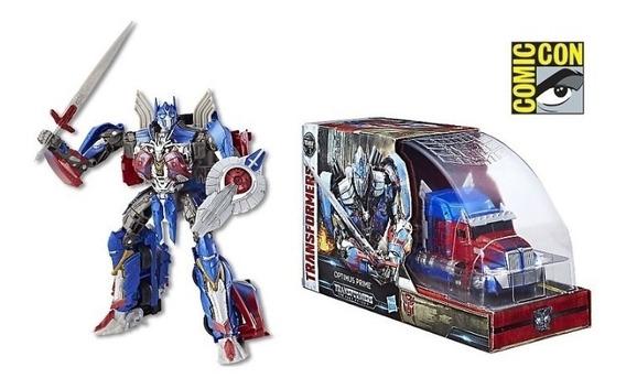 Optimus Prime Comic Con Voyager Transformers The Last Knight