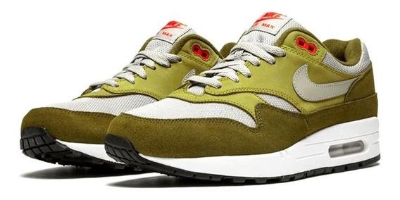 Nike Air Max 1 Premium Retro Olive. Entrega Inmediata!