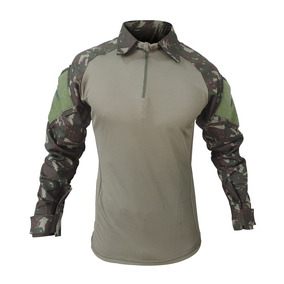 Camisa Combat T-shirt Tática Militar Airsoft