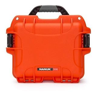 Nanuk 908 Hard Camera Case Orange 9080003