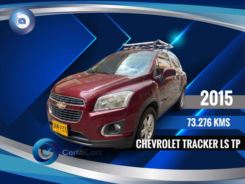Chevrolet Tracker 2015 1.8 Ls Financiacars.com