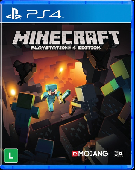 Minecraft Playstation 4 Edition Mídia Digital Primária