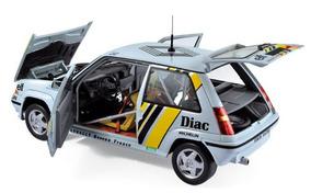 1/18 Renault 5 Gt Super Turbo Miniatura Norev Tour França