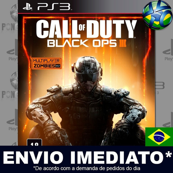 Call Of Duty Black Ops Iii 3 Ps3 Digital Psn Dublado Português Pt Br Jogo Em Promoção