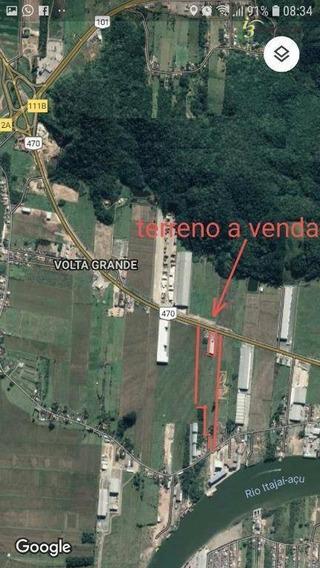 Excelente Área Industrial Na Br 470 Em Navegantes, Própria Para Construção De Condomínio Logístico. - Ar0009