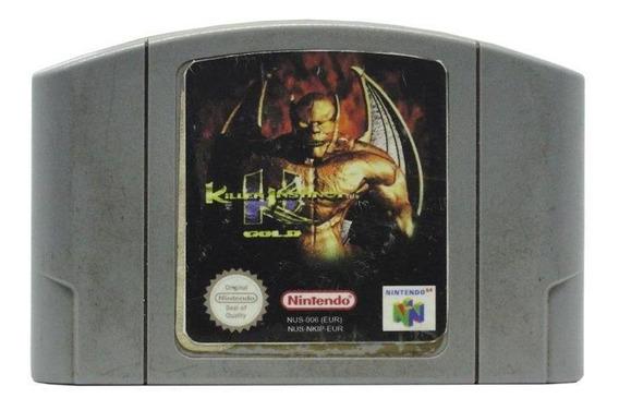 Killer Instinct Gold N64 Mídia Física Pronta Entrega