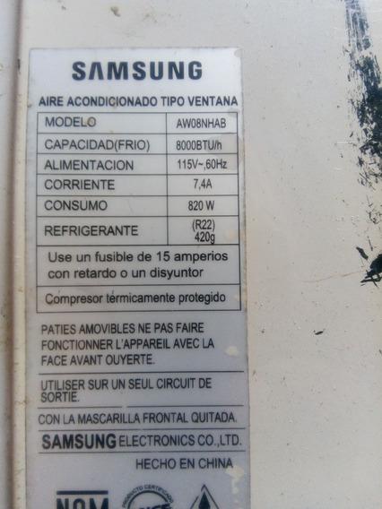 Aspa De Evaporador Clima De Ventana Samsung 8000 Bts