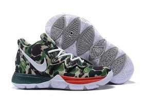 Tenis Nike Kyrie 5 Camo Original Leia O Anúncio