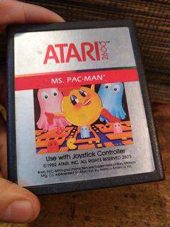 Juego De Atari Miss Pacman De 1982