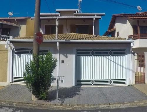 Sobrado Com 3 Dormitórios À Venda, 130 M² Por R$ 480.000,00 - Vila Maria Elena - Indaiatuba/sp - So0424