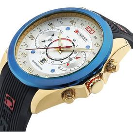 Relógio Curren M 8166 Esportivo Quartz Masculino Feminino