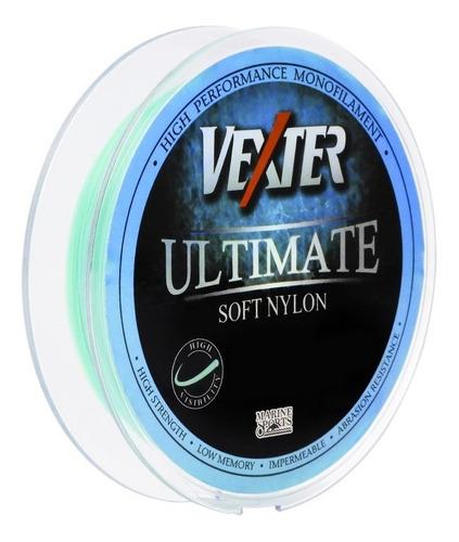 Imagem 1 de 1 de Linha  Pesca Monofilamento Vexter Ultimate Soft 300m Azul