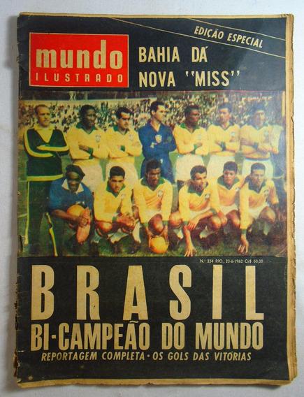 Revista Mundo Ilustrado Edição Especial Bi Campeonato 1962