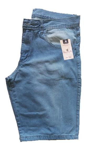 Bermuda Jeans Masculina Slim - Preço De Atacado