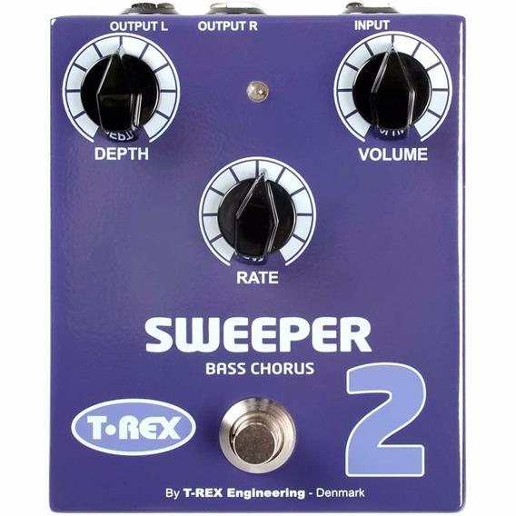 T-rex Sweeper 2 Il - Pedal Efecto Chorus Para Bajo - Oddity