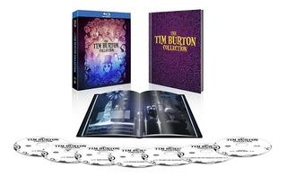 Tim Burton: Collection Warner, 7 Blu-ray + Libro