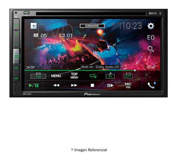 Radio Pioneer Avh-a315bt Radio Reproductor Multimedia Para