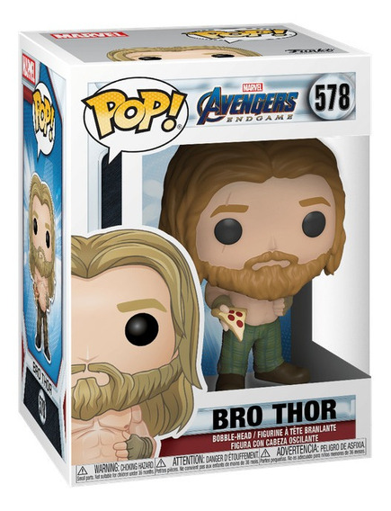 Funko Pop Marvel Avengers Endgame Bro Thor W/pizza 578