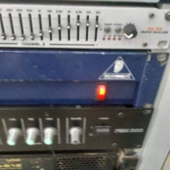 Mesa De Som Behriger Eurodesk Mx 3282a Com Fonte E Tudo