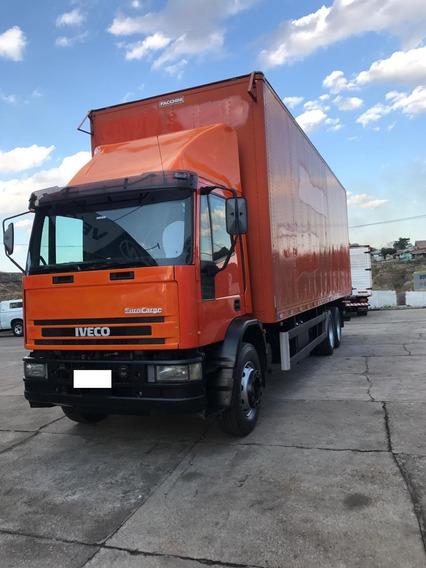 Caminhão Baú Trucado Iveco/ectector 230e24n 2009/2009