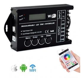 Controladora Tc421 Wifi Luminária Led Aquarios Efe/amanhecer
