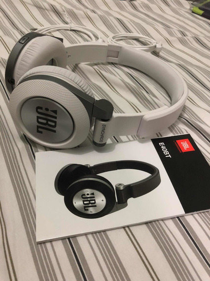 Fone Bluetooth Jbl Branco